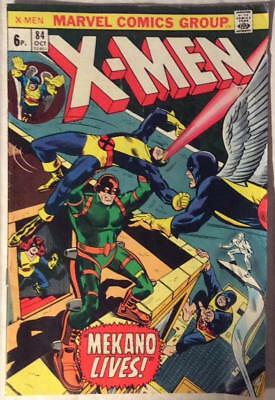 Uncanny X-men #84 (Marvel 1973) Bronze age classic. VG/FN condition.