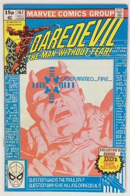 Daredevil #167 Bronze Age (Marvel 1980)