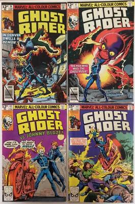 Ghost Rider #36,41,43 & 47 (Marvel 1979) 4 x 1st series issues.