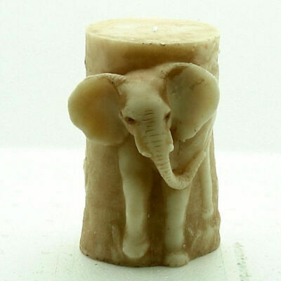 3D Candle Molds Silicone Soap Elephant DIY Handmade Craft Wax Clay Resin Mould