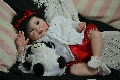 Gorgeous Reborn Baby GIRL Doll JASMINE was Fei Yen by Cindy Musgrove COMPLETED