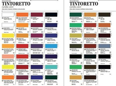 Colore Ad Acquarello Extrafine Ferrario Tintoretto Extrafine Watercolurs