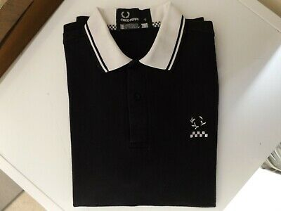 fad58560 FRED PERRY THE Specials Limited Edition Polo Shirt Size Small ...