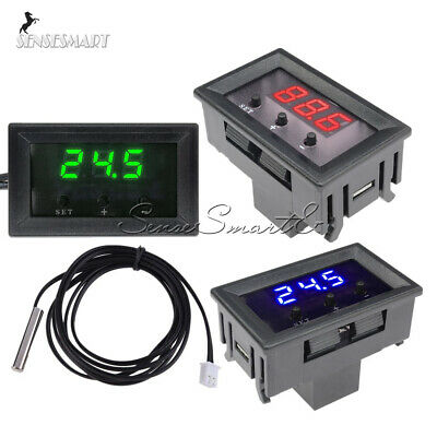 W1209 Thermostat -50~110°C 12V Digital Temperature Controller Switch NTC Sensor