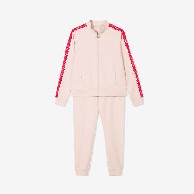 Moncler for Kids 'Completo Maglia' Girls Tracksuit with Embroidered Trims - Pink