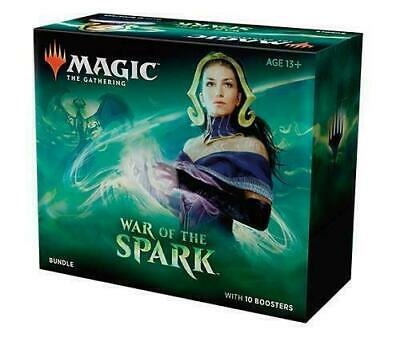 MTG Magic the Gathering War of The Spark Bundle box 10 Boosters pack cards