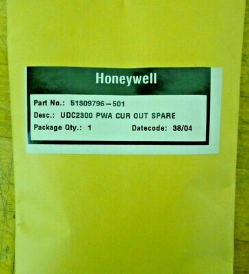 Honeywell 51309796-501  Udc2300 Pwa Cur Out Spare