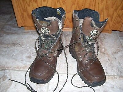 5a65faca251 NICE!! RED WING Irish Setter 819 camo Hunting Boots 400g Insulation Mens 8 D