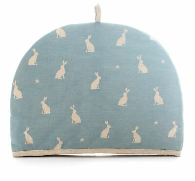 Dexam Stargazing Hare 6 Cup Tea Cosy Blue Cosie Cozy Teapot Pot Cover Kitchen