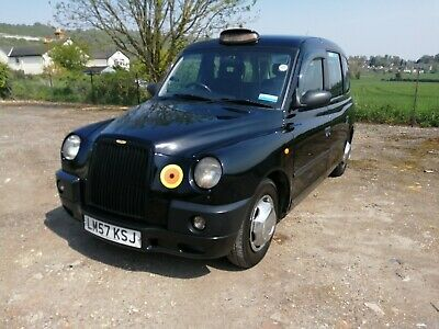 Lti Tx4 London Black Taxi 2008 Automatic Recon Engine Very Clean Cab