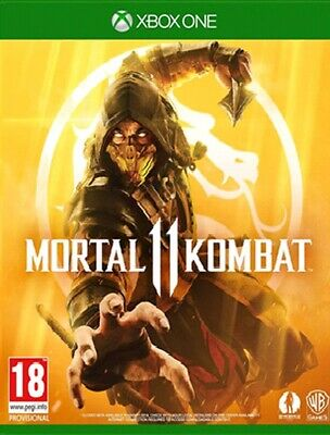 Mortal Kombat 11 X1 - Brand new And Sealed - With Shao Kahn DLC