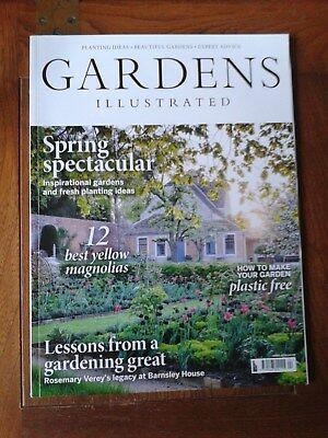 Gardens Illustrated back issue April 2018  Read once on train