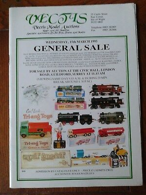 Dinky Toy memroabilia  Vectis Dinky Toy Auction Catalogue March 1995