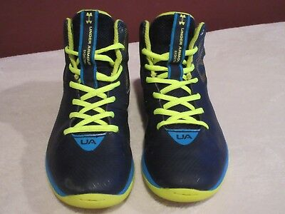 reputable site ad5d9 11e85 Under Armour Hi Top Basketball Sneakers Youth Size 5.5Y