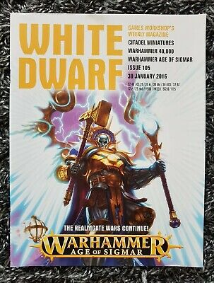 White Dwarf Magazine Issue 105 30 January 2016 Games Workshop