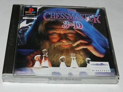 THE CHESSMASTER 3-D    PS1 Spiel  in TOP Zustand