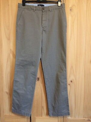 """Fred Perry Men's Brown Trousers Size 32"""" 81 Cm R"""