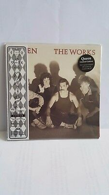 Queen, The Works, Japanese Cd Replica Of The Original Uk Lp, Brand New & Sealed