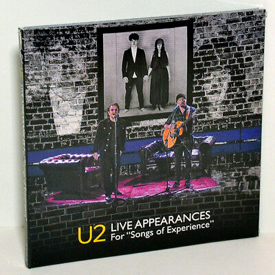 U2 Live Appearances For Songs of Experience Rarities Promo TV CD+DVD Digipak Box