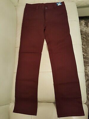 Boys Trousers Age 11-12 Years New With Tag  Height 152 Cm Cotton