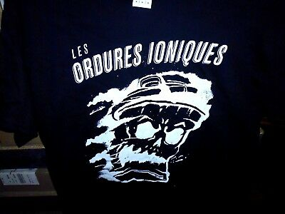 Tshirt Ordures Ioniques - Poubelle - Taille Girly XL
