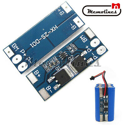 5PCS 2S 8A 18650 Li-ion Lithium Battery BMS Charger Balance Protection Board