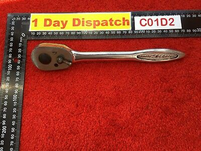 "vintage Gordon Tools 2014 Ratchet With 1/2"" Drive"