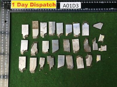 Joblot of 28 customise mouldings cutters Grooves cutting wood working tools