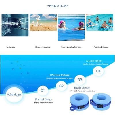 Fitness & Jogging All Pro Aquatic Thigh Weights Cuffs Traction Water Swimming Aqua Aerobics 9530T