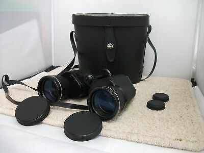Pathescope 20 X 50 Binoculars And Carry Case #214