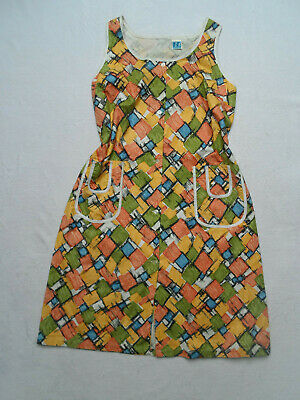 VINTAGE 1950s ICONIC PRINT PINNY DRESS