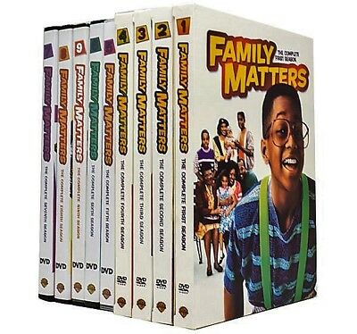 Family Matters: The Complete Series (27-DVDs, Seasons 1-9) Brand New