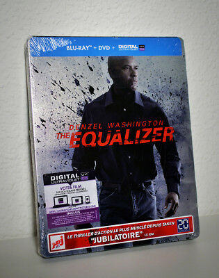 The Equalizer - Limited Bluray Steelbook - NEU&OVP
