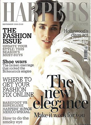 Harpers And Queen September 2005 Jennifer Connelly Cover