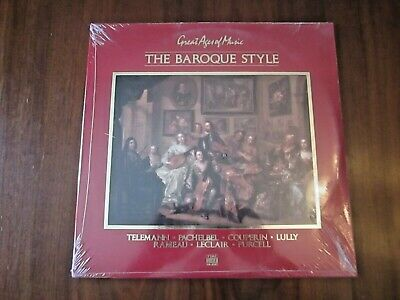 Great Ages of Music THE BAROQUE STYLE 2LP Time-Life Music SGMU-11 STILL SEALED