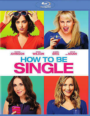 How to be Single (BLURAY)  **VG cond**  Ex-library