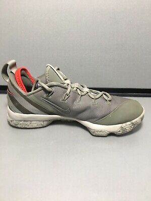 bed7156d0010 NIKE LEBRON XIV Low Size 10 Dark Stucco Military Green 878636-003 ...