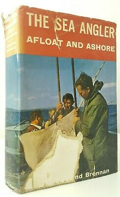 The Sea Angler Afloat and Ashore Desmond Brennan saltwater fishing book boats
