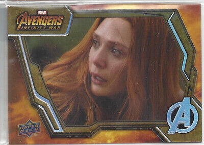 2018 Upper Deck Avengers Infinity War Tier 3 Base Card #88 - Elizabeth Olsen