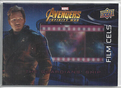 2018 Upper Deck Avengers Infinity War Film Cel Card #FC16 Star-Lord Guardians