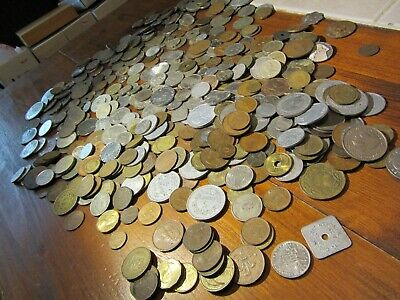 Estate Lot (532) Coin Collection over 5 pounds unsearched many vintage antique