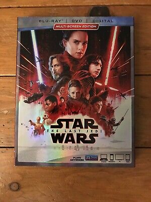 Star Wars: The Last Jedi (Blu-ray Disc, DVD)