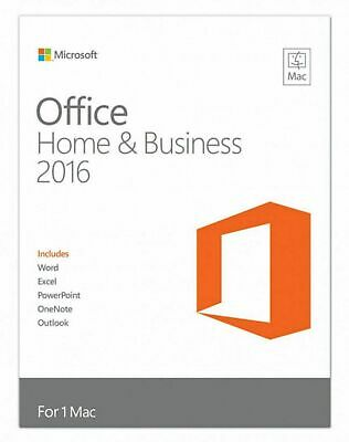 Microsoft Office 2016 Home & Business for 5 Mac - INSTANT DELIVERY