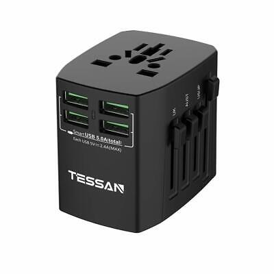 TESSAN Universal Travel Adapter All in 1 International Worldwide AC Power Outlet