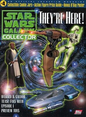 Star Wars Galaxy Collector Issue #4 SEALED WITH PREMIUMS