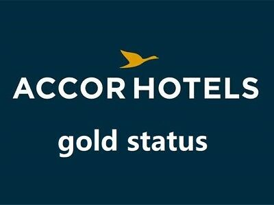 LE CLUB ACCOR Gold Status Upgrade,Same day process 1 day(valid Dec 2020)