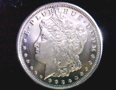 Morgan Silver Dollar Design Bullion Rounds 1/4 Troy Oz. .999 Fine Silver BU GEM