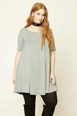 Heathered t shirt dress forever 21