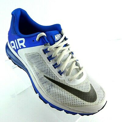 info for 18374 e5895 Nike Hommes Air Max Chaussures Course US 7.5 Excellerate 2 Blanc Bleu 2014