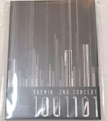 NEW TAEMIN SHINee 2ND Live Concert T1001101 Official Postcard Book F/S